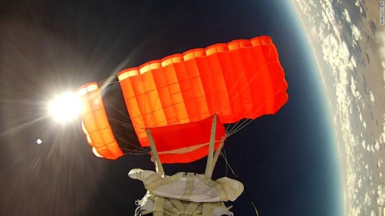 balonla uzaya yolculuk